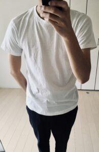 乾燥機で縮むTシャツ