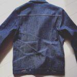 【ジージャンの色落ち】アーペーセーデニムジャケット250時間目(a.p.c denim jacket)