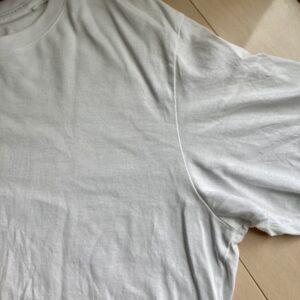 ユニクロスーピマコットンTシャツのシルエット