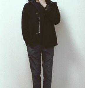 【黒の着こなし】本当は皆んな黒色が似合わない?