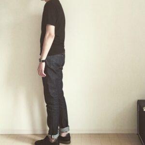 【黒Tの最良な着こなし】黒Tシャツのコーディネートと色の分量