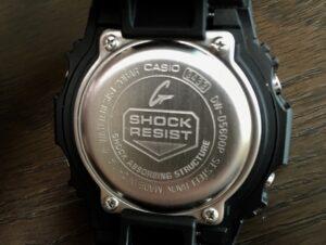 SHOCK RESIST(ショックレジスト)はGショックの耐衝撃機能
