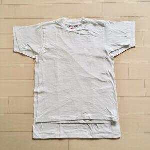 ヘインズTシャツの縮み