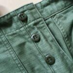 【オアスロウのファティーグパンツ購入レビュー】orslow USアーミーファティーグの特徴とサイズ感について