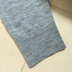 ファインメリノカーディガンの袖