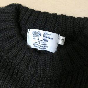 【ケリーウーレンミルズのリブニット購入レビュー】Kerry Woollen Mills フィッシャーマンズセーターについて