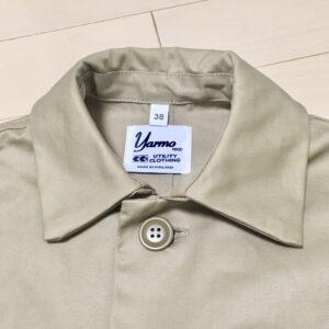 【ヤーモ(yarmo) ダスターコート購入レビュー】CC41 英国製ワークコートの特徴と着こなし