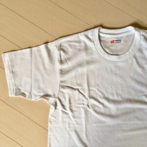 薄手でベーシックなシンプルTシャツ