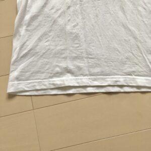 洗濯後の縮みと裾の変化