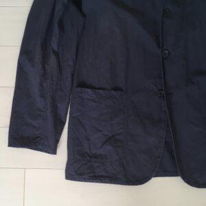 パッチポケットのテーラードジャケット
