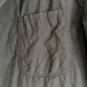 胸ポケットもパッチポケット