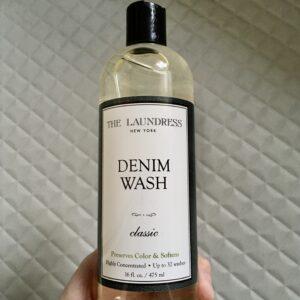 デニム用洗剤のランドレスを使用