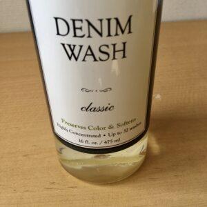 デニムウォッシュはクラシックの香り