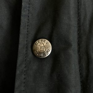 シェラデザインのスナップボタン